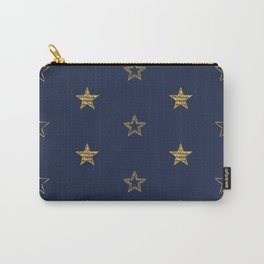 Golden Dust Stars   Pattern Art Carry-All Pouch