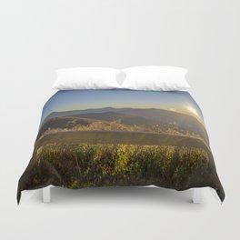 Sunrise on the Blue Ridge #2 Duvet Cover
