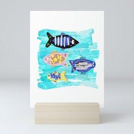 Fishies Mini Art Print
