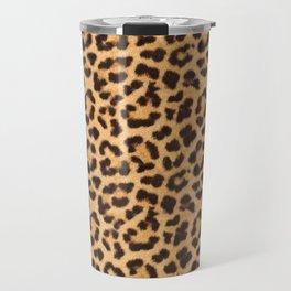 Leopard Print Travel Mug