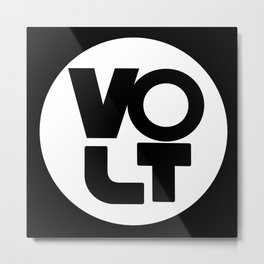 VOLT - The Orignial Metal Print