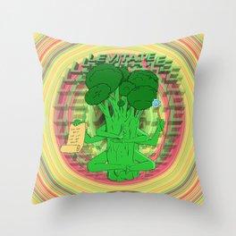 Buddha Broc Throw Pillow