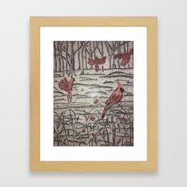 Kentucky Winter Framed Art Print