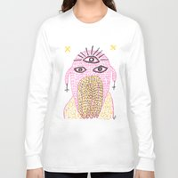 third eye Long Sleeve T-shirts featuring Third Eye by Nü Köza