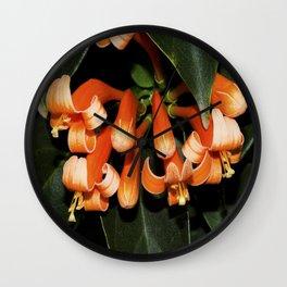 Flame Vine  Wall Clock