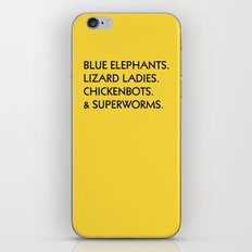 LEMONBITE NO. 2 iPhone & iPod Skin