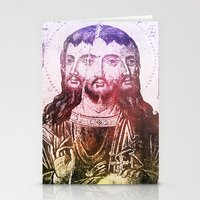 christ Stationery Cards featuring Thrice Christ by EclecticArtistACS