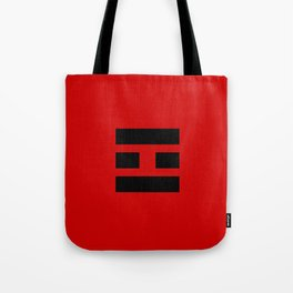 I Ching Yi jing - symbol of 離 Lí Tote Bag
