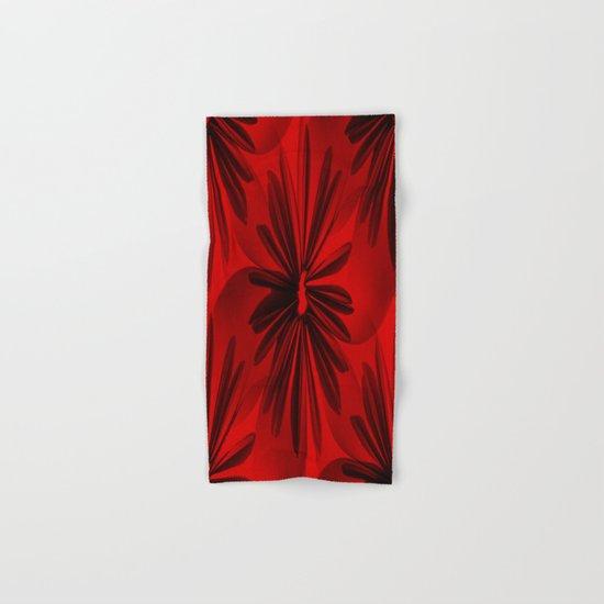 Christmas Red Hand & Bath Towel