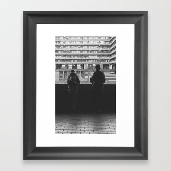 this is england... Framed Art Print