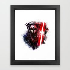 Darth Nihilus Framed Art Print