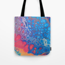Rainbow Geode Tote Bag