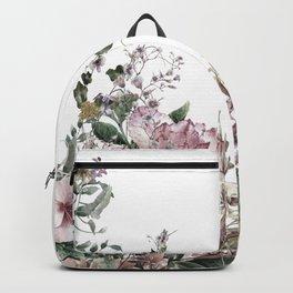 Vintage Field Flowers Backpack