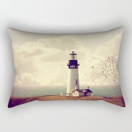 Vintage Lighthouse Rectangular Pillow