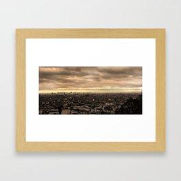 View of Paris Framed Art Print