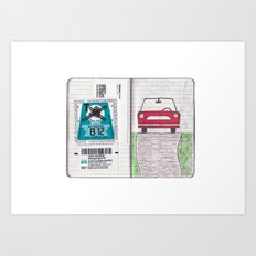 Roadtrip to Austria Art Print