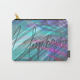 Name: Unapologetic love Carry-All Pouch