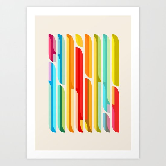 Test Tube Tune Art Print