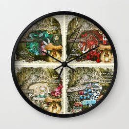 Alice of Wonderland Series Wall Clock
