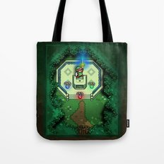 Zelda Link to the Past Master Sword Tote Bag