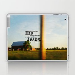 Ephesians 2 Workmanship Laptop & iPad Skin
