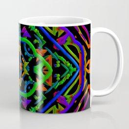 Neon Doodle Coffee Mug
