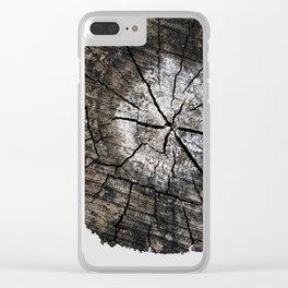 Stump 8 Clear iPhone Case