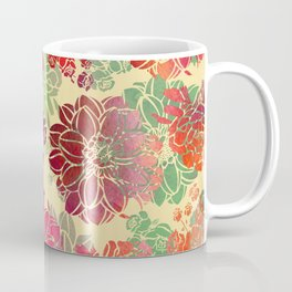 Flower Pattern Design #3 Coffee Mug