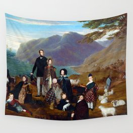 The Emigrants by William Allsworth (1844) Wall Tapestry