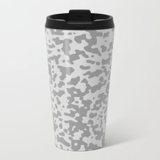 Comp Camouflage / Grey Metal Travel Mug