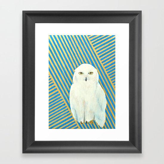 Chester the Owl Framed Art Print