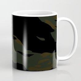 Brown Tiger Camouflage Coffee Mug