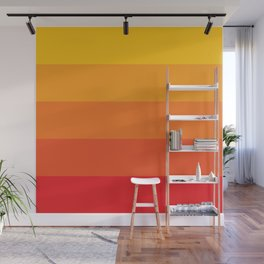 Retro Sunrise Wall Mural