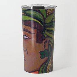 Native Face 3 Travel Mug
