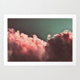 Pink Cotton Art Print