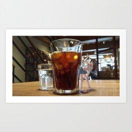 Coldbrew Coffee Art Print