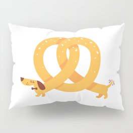 Pretzel Dog Pillow Sham