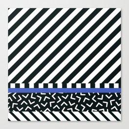Memphis pattern 89 Canvas Print