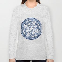 Chinese Pattern Long Sleeve T-shirt