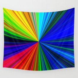 Colours of a Rainbow Wall Tapestry