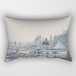 winter blues ... Rectangular Pillow