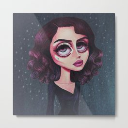 YOUNG & BEAUTIFUL Metal Print