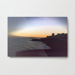 Seafront sunset Metal Print