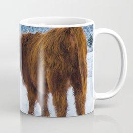St bernard VS a Hairy cow Coffee Mug