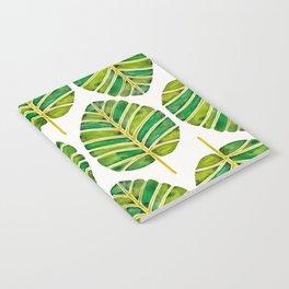 Elephant Ear Alocasia – Green Palette Notebook
