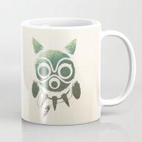 mononoke Mugs featuring Mononoke by Kiana
