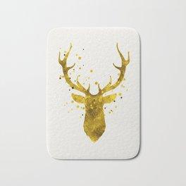 Gold Deer Bath Mat