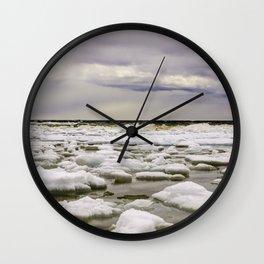 Ice water Wall Clock