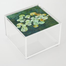 Tranquil lily pond Acrylic Box