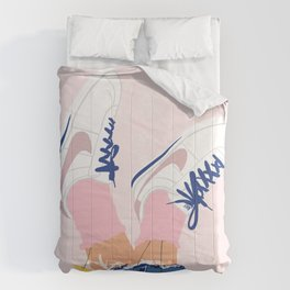 Flower Shoes  Comforters